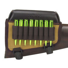 Tourbon Rifle Ammo Holder Butt Cheek Piece Rest Pad Buttstock Hunting Shooting
