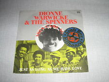 DIONNE WARWICK THE SPINNERS 45 TOURS FRANCE THEN CAME Y