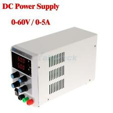 60V 5A 110V/220V Regulated DC Power Supply Adjustable Variable Digital Grade Lab
