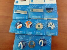 RIO 2016 OLYMPIC PARALYMPIC PIN- ATHENS 2004 OLYMPIC PINS LOT 10 LOGO