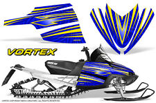 ARCTIC CAT M CROSSFIRE SNOWMOBILE SLED GRAPHICS KIT WRAP CREATORX VORTEX YBL