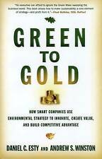 Green to Gold: How Smart Companies Use Environmental S