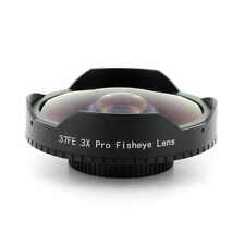 28mm Baby Death 0.3x Pro Super Wide Angle Fisheye Video Lens for Skate Boarding