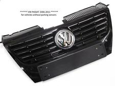 VW PASSAT 2006-2011 FRONT RADIATOR GRILLE ( NO PDC ) GLOSS BLACK 03C853651AD-NEW