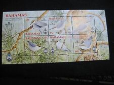 Bahamas: 2006 Nature Conservation - Birds UMM Mini Sheet (2)
