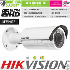 UK HIKVISION DS-2CD2642FWD-IS 2.8-12mm 4MP 3MP 2MP 1080P Onvif WDR HD IP Camera