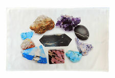 Collection of Minerals Large Cotton Tea Towel