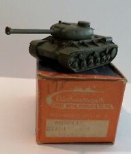 Authenticast Comet Russian Tank JS-I Stalin 5202 Box Russia MILITARY ID VEHICLE