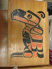vintage Haida Thunderbird on Cedar Plank signed RD (Robert Davidson?)