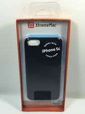 XtremeMac MicroShield Case For iPhone 5c -Sky Blue Carbon Fiber -IPP-MLCF-23