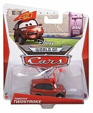 DISNEY CARS RSN TIMOTHY TWOSTROKE DIECAST VEHICLE 1/8 *NEW*