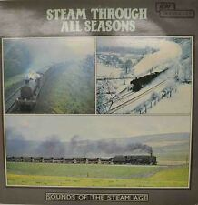 """STEAM THROUGH ALL SEASONS - SOUNDS OF THE STEAM AGE 12"""" LP (W 162)"""