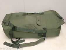 Real Military Issue Duffel Bag / Heavy Duty Army USMC Navy USAF Duffle Fair Cond