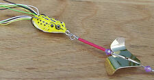Custom Topwater Hollow Body Weedless Buzzbait Frog OG Buzzfrog Buzz Bait Lure