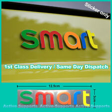 Smart Car Vinyl Decal Funny Sticker Fortwo Forfour Brabus Mercedes Colourful