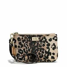 COACH Madison Ocelot Wrislet LEOPARD Print Wallet purse - NEW - SOLD OUT -