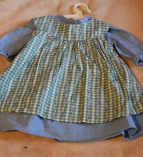 American Girl Addy's Work Dress and Apron Retired 2007
