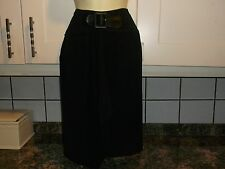 NEW SMART LADIES SIZE 12 BLACK DESIGNER  SKIRT BY DOLLHOUSE