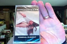 Godandtexas- Criminal Element- new/sealed cassette tape
