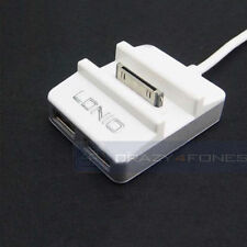 30-pin a USB Docking Station Dock + Hub USB Caricatore Sync Per iPad iPhone 4 iPod