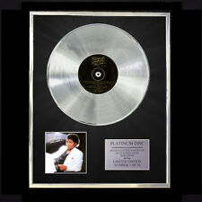 MICHAEL JACKSON THRILLER   CD PLATINUM DISC VINYL LP