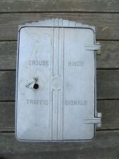 Crouse Hinds Empty Flasher Traffic Signal Light Cabinet #2