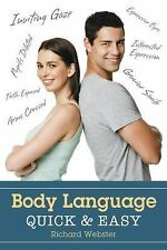 New, Body Language Quick & Easy, Webster, Richard, Book
