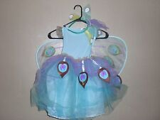 POTTERY BARN KIDS HALLOWEEN PEACOCK FAIRY COSTUME 4-6Y NEW W/ TAG FREE SHIPPPING