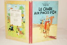 TINTIN HERGE LE CRABE AUX PINCES D'OR B23 1957 1958