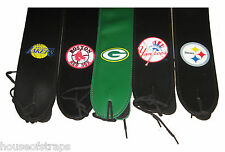 Sports Team Leather Guitar Strap