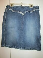 Guess Jeans  Denim Mini Skirt Western Cowgirl Style Size 27 NEW