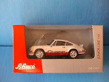 PORSCHE 911 RS CARRERA 2.7 SCHUCO JUNIOR 27288 1/43 WHITE BLANCHE GERMANY