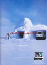 Kenwood DVD System Movies On the Move 2001 Magazine Advert #1946