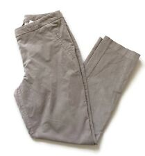 H M Women's Corduroy Pants Gray Size 8