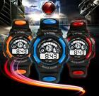 Waterproof Watch Mens Boy's Sports Digital LED Quartz Alarm Date Wrist Watches