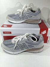 NEW BALANCE Kids KJ990GLG Gray Casual Walking Sneakers Shoes Size 6.5 Y ZE-1580