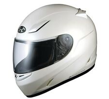 NEW OGK KABUTO FFR3 Pearl WHITE XL Motorcycle Full face Helmet Japanese Model