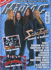 METAL MANIAC 3 2010 Savatage Gamma Ray At The Gates Sadist Foreigner Giant Nerve