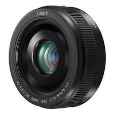 Panasonic Lumix G H-H020AK 20mm F/1.7 II ASPH Lens for Panasonic/Olympus BLACK