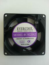 Evercool 92mm x 92mm x 25mm AC 220/240V 2800rpm industrial fan EC9225A2