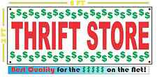 THRIFT STORE Full Color Banner Sign 4 Thrift Store Resale Store Shop