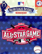2015 MLB ALL STAR GAME --Cincinnati Reds--OFFICIAL LOGO---COLLECTOR PATCH