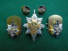 Worcestershire & Sherwood Foresters Regiment Cap/Collar Badges & Buttons