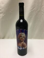 2004 Marilyn Monroe Merlot Napa Valley Red Wine Full Bottle