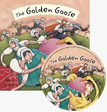 Golden Goose W CD (Flip-up Fairy Tales)-ExLibrary