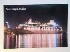 mv Sovereign of the Seas . Royal Caribbean Cruise Line Ship . RCCL . Night Boat