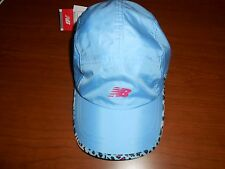 Women's New Balance Blue w/Contrast Trim Athletic Baseball Running Cap, OSFA