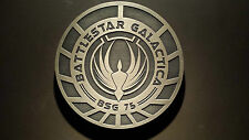Battlestar Galactica plaque sign prop replica BSG 75