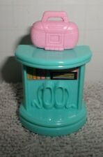 Fisher Price Sweet Streets Blue Table with Pink Radio