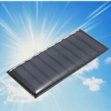 5V 0.5W Solare Pannello Solar Panel Modulo Cella Caricabatterie giocattoli